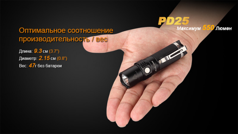 Фонарь Fenix PD25 Cree XP-L
